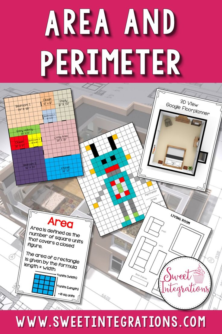 Best 20+ Calculate Perimeter Ideas On Pinterest  Formula Of Area, Area  Measurement And Perimeter Of Shapes