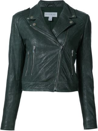 Rebecca Vallance Leather Jacket - worn by Nicole O'Neil on the REal Housewives of Sydney