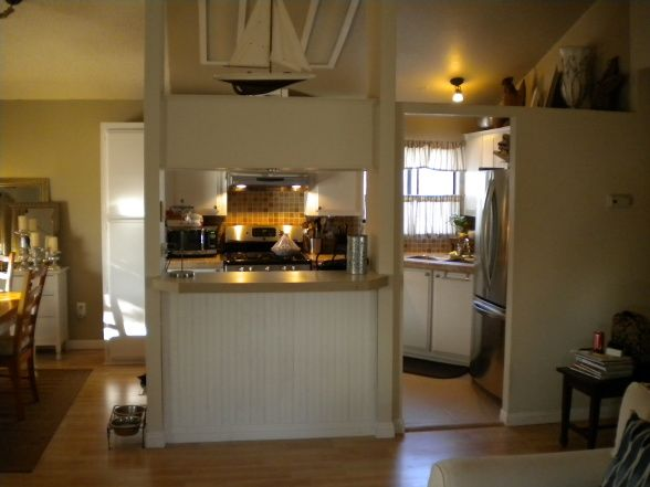 Mobile home kitchen re do on a budget kitchen designs for Decorating a mobile home on a budget