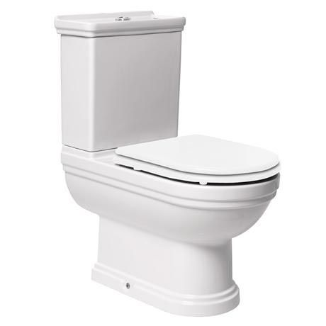 Mere - Aristo Traditional Toilet with White Seat