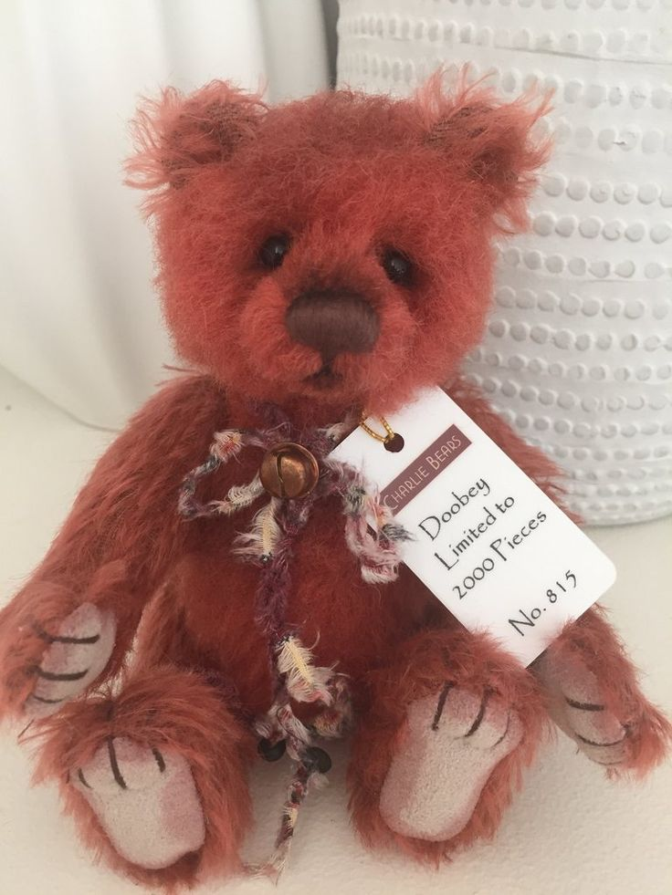 Doobey Minimo Mohair Teddy Bear