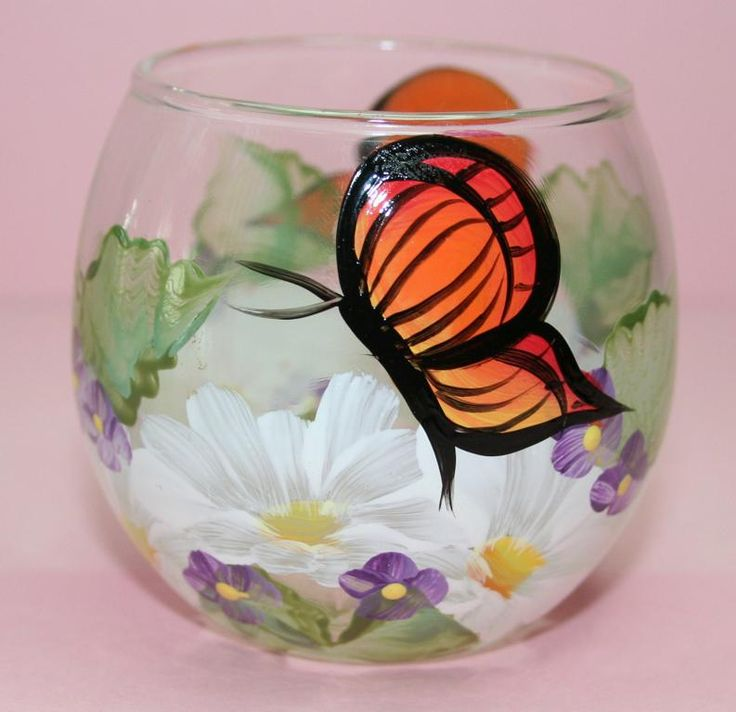 31 Best Images About Painting On Glass On Pinterest See Best Ideas About Painted Wine Glasses