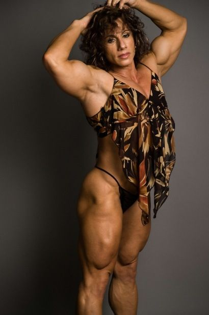 Annie Rivieccio  Girl Power  Muscle Girls, Sexy Older -6160