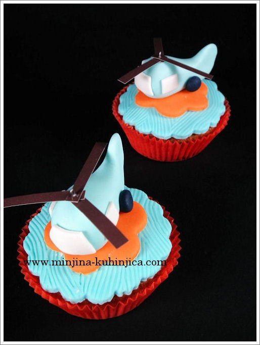 Helicopter cupcakes — Cupcakes!