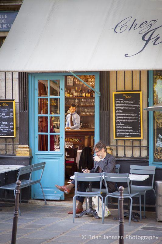 Chez Julien Cafe, Paris France. © Brian Jannsen Photography