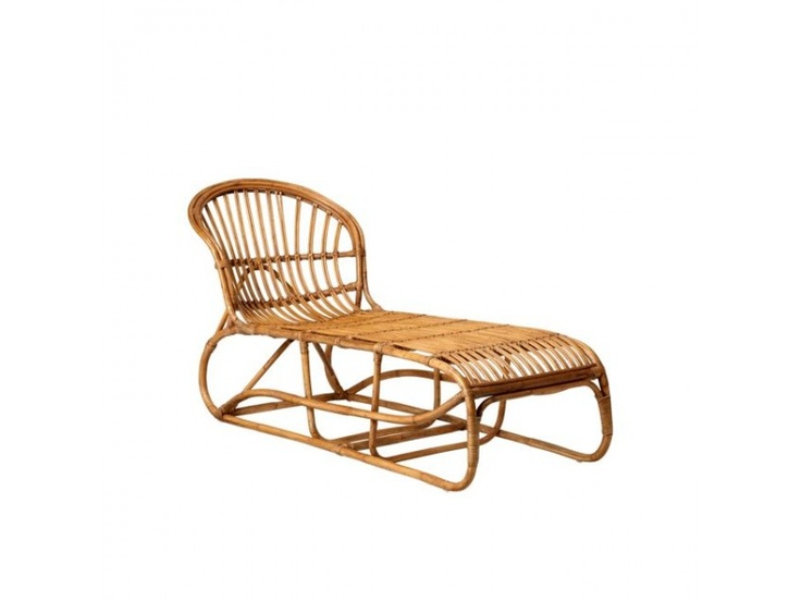Bloomingville Chaise long chair bamboo
