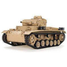 Heng Long 1/16 2.4G 3819-1 German Panther Snow Leopard Battle Tank RC Tank Sale - Banggood Mobile
