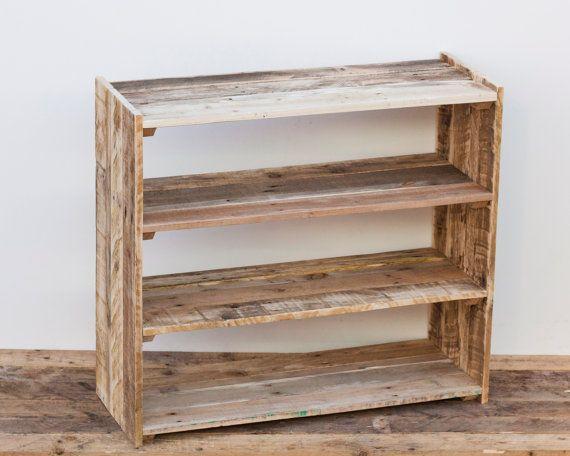 Large Shoe Rack Pallet Wood Furniture by PalletablesUK on Etsy