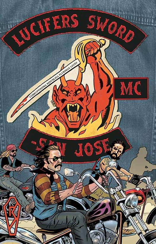 Ronn Sutton will have copies of his latest graphic novel, LUCIFER'S SWORD MC, available at Ottawa Comiccon, May 8-10, 2015 (EY Centre). Free autograph!