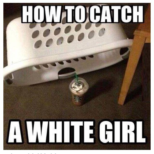 White girl problem #starbucks :) I'm caught! | I love Starbucks