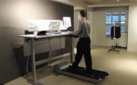 French Publication RTL Reviews the TrekDesk Treadmill DeskFinis les jambes qui restent sous le bureau : voilà le tapis roulant !