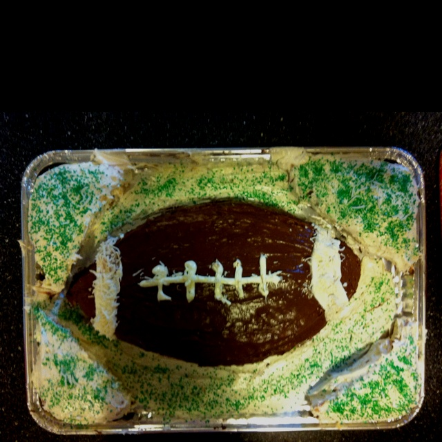 Our Super Bowl cake !