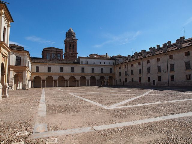 Palazzo Ducale, Mantova, Piazza Castello