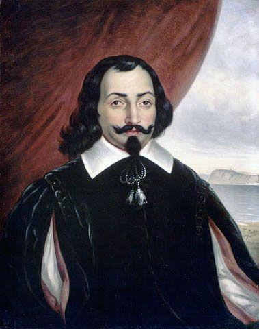 Imagined portrait of Samuel de Champlain