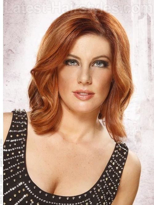 haircuts and color for medium length hair seductive waves glorious color one hairstyle 4150
