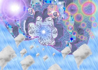 Flying Drops by New Energy Art (c) www.mirrirocks.com