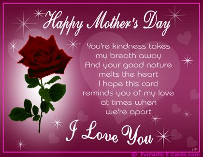happy motherss day momma ur the best filled with love on ur day love ur son daughter -n- law n kiddos