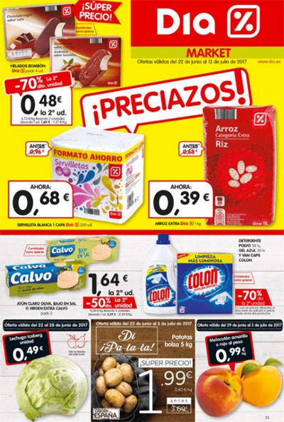 Catálogo DIA del 22 de Junio al 12 de Julio -  Ofertas día del 22 de junio al 12 de Julio de 2017 Cientos de productos al -70%, -50%, comprar productos baratos y de calidad es posible gracias a supermercados DIA %                                                            #td_uid_1_594c43f8366ff  .td-doubleSlider-2 .td-item1 {               ... #CatálogosDIA, #Catálogosonline   Ver en la web : https://ofertassupermercados.es/catalogo-dia-del-22-junio-al-12-julio/
