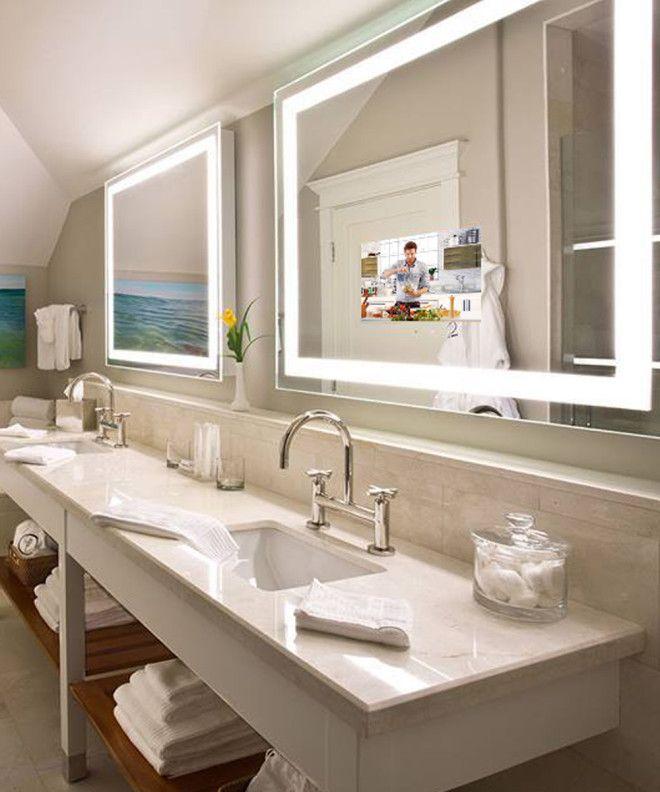 Electric Mirror Mirror Tv Tv In Bathroom Hotel Bathroom Mirror