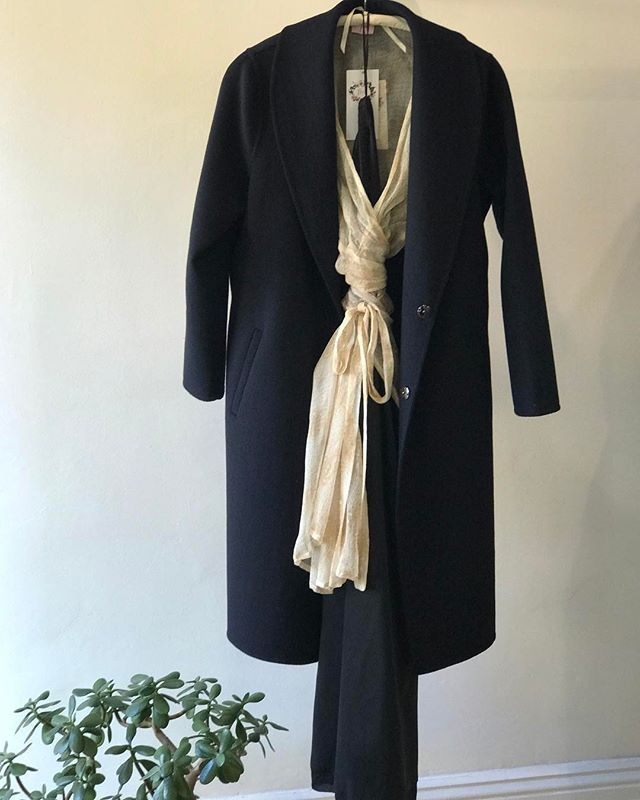 The Last One ... in store  only @jiva_clothing... this gorgeous double faced cashmere wool coat... don't miss out... #ca...