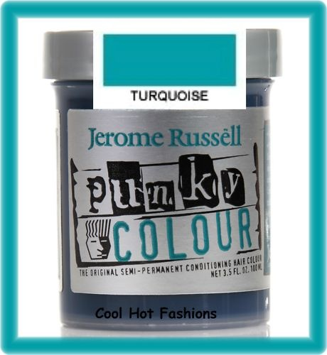Punky Color Turquoise Jerome Russell . it works really well and i looove the color