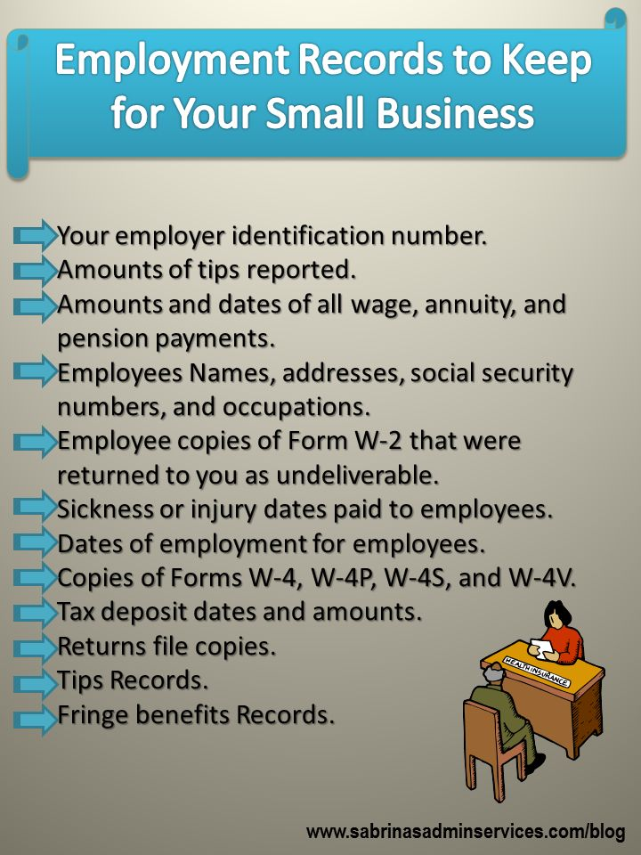 Business Employment Records to Keep