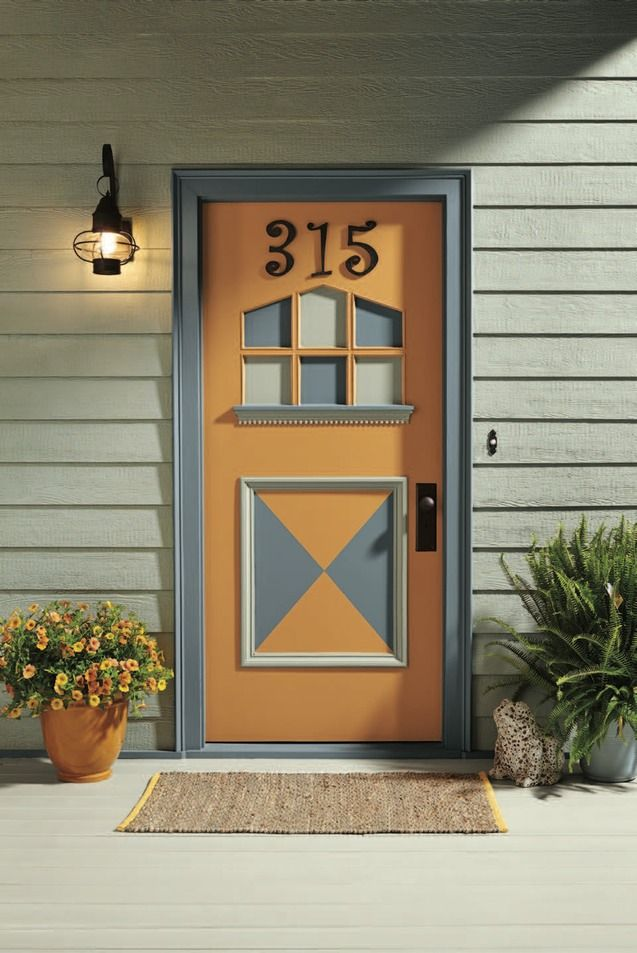 118 best Fabulous Paint Colors for Front Doors images on ...