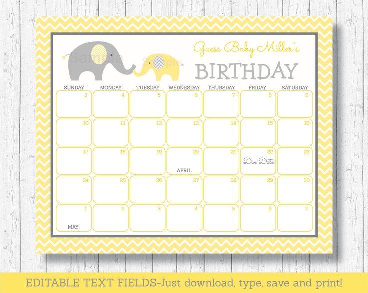 Calendar Party Ideas : Ideas about due date calendar on pinterest