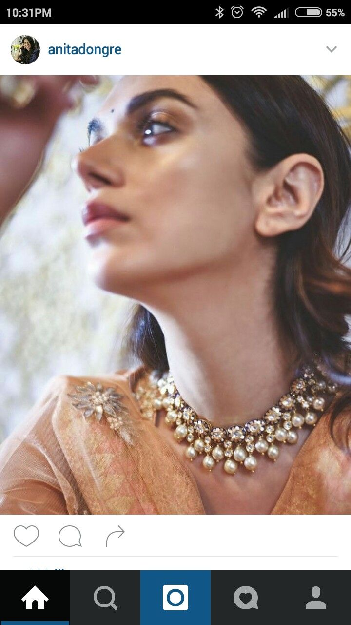 #jewellery #set #necklace #earrings #diamond