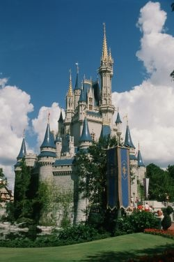 """The Magic Kingdom. Cue """"When you wish upon a star."""""""