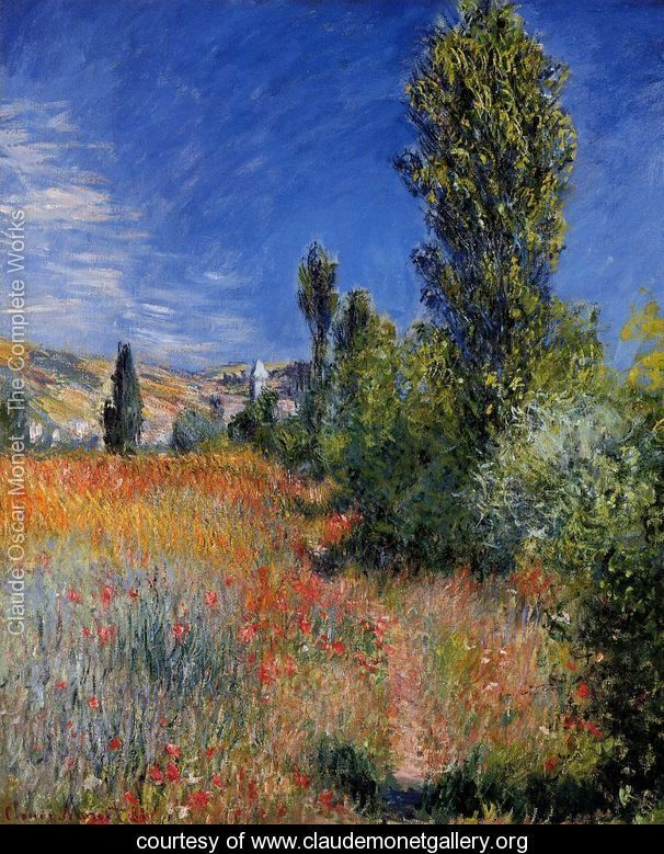 Landscape-On-The-Ile-Saint-Martin- Claude MONET