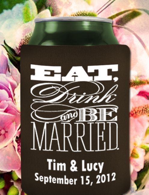 17 Best Koozies Images On Pinterest Beer Koozie Wedding