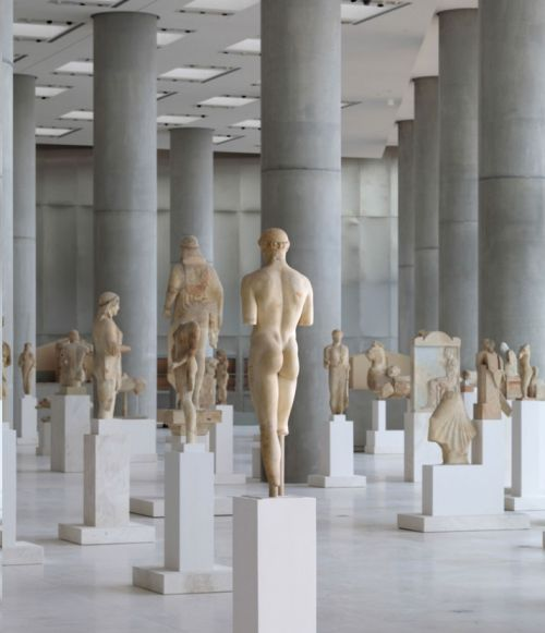 The New Acropolis Museum in Athens Greece