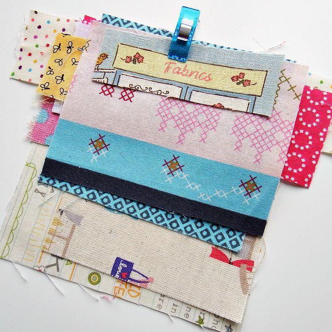 Selecionando-fabrics-para-remendado-improv-bolsas-pink-cortado-together