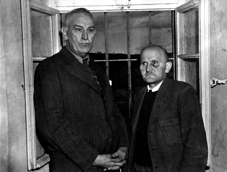 Der Leiter und sein Handlanger:  Adolf Wahlmann (links) übernahm als...