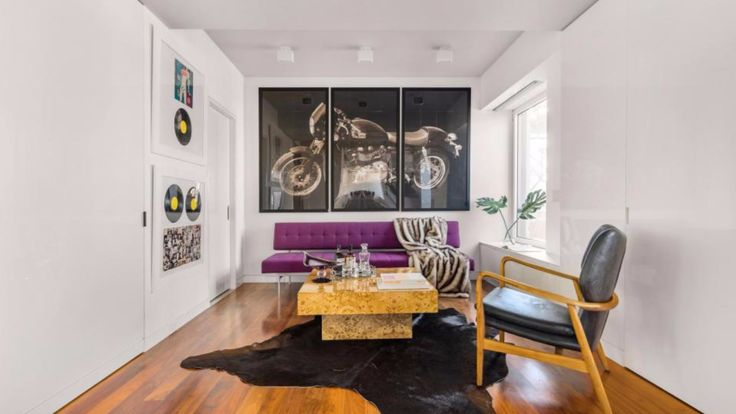 """Keith Richards' Appartment zu verkaufen: Wohnen wie ein """"Rolling Stone"""" - Leute - Bild.de"""