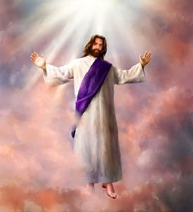 Pictures Heaven Jesus | This same Jesus, who was taken up from you into heaven, will so come ...