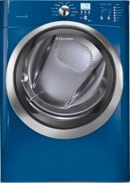"""Oh!  My Broncos laundry room:). EIMED55IMB IQ-Touch Series 27"""" Electric Dryer with 8.0 cu. ft. Capacity, Perfect Steam Option, 11 Drying Cycles, IQ-Touch Controls and Gentle Tumble Dry System, Mediterranean Blue"""
