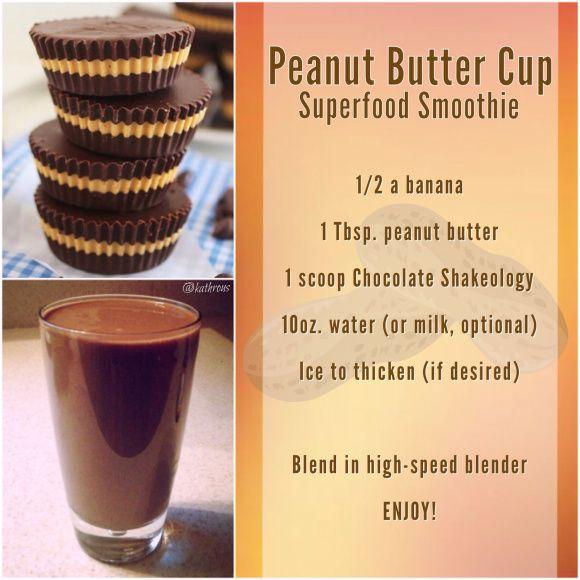 Peanut Butter Cup Shakeology