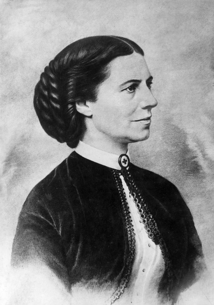 USA: Clara Barton; Founder of the American Red Cross. Women we admire; influential women in history #Lottie dolls #herstory