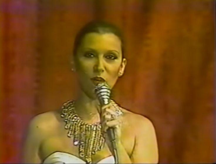 Carmen Victoria Perez, co animadora del  Miss Venezuela 1981 desde el Macuto Sheraton.  by Antoni Azocar