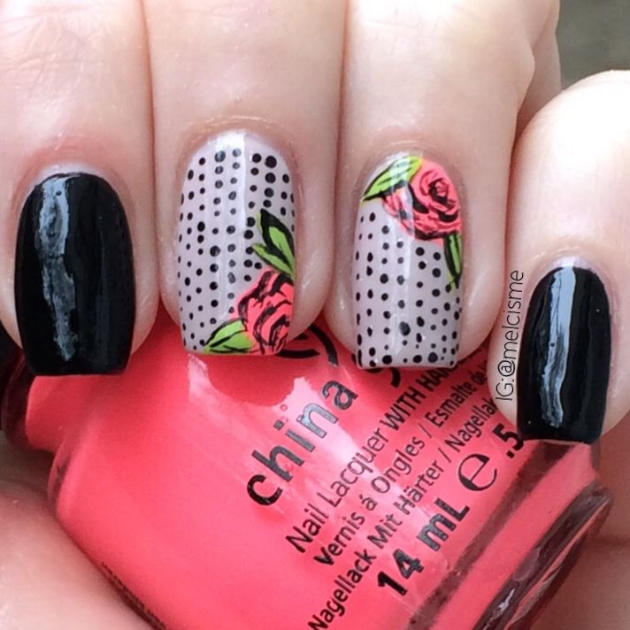 181 best Floral nails images on Pinterest | Flower nails, Nail ...