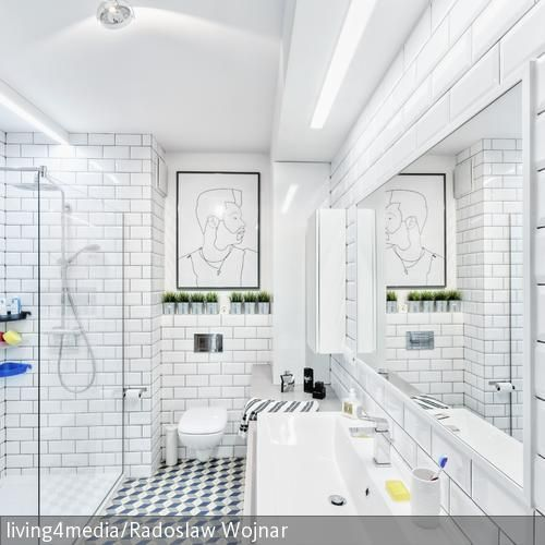11 best Große Badezimmer images on Pinterest Bathrooms decor - bad spiegel high tech produkt badezimmer