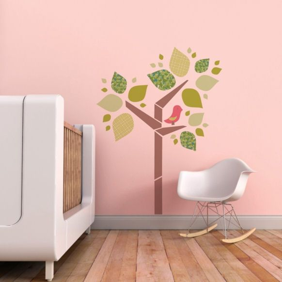 Pink Wall Decals best 25+ pink wall stickers ideas on pinterest | grey wall