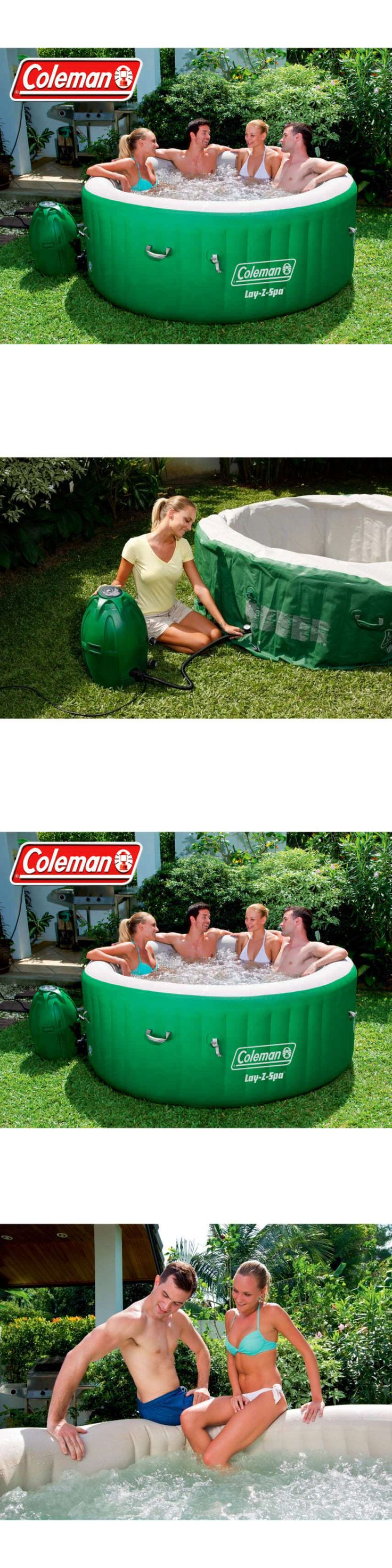 Spas and Hot Tubs 84211: Coleman Lay-Z Massage Portable Spa For 4-6 People -> BUY IT NOW ONLY: $375.73 on eBay!