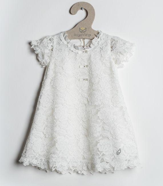 Το ξαναφέραμε! Βαπτιστικό φόρεμα Lace 47,90! δείτε το εδώ: http://angelscouture.gr/index.php?route=product/product&path=172_176&product_id=391