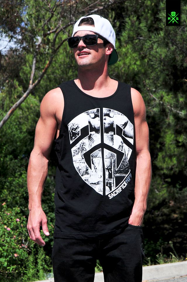"Men's ""Tanked"" Tank Top.  Get yours here: www.sacrificemfg.com/shop/tanked  Follow us on: facebook.com/sacrificemfg twitter.com/sacrificemfg Instagram @sacrifice_mfg www.sacrificemfg.com"