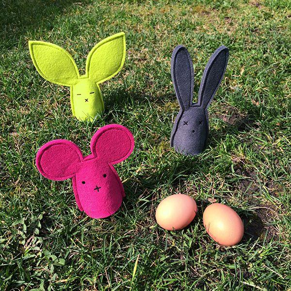 Felt egg warmer animals