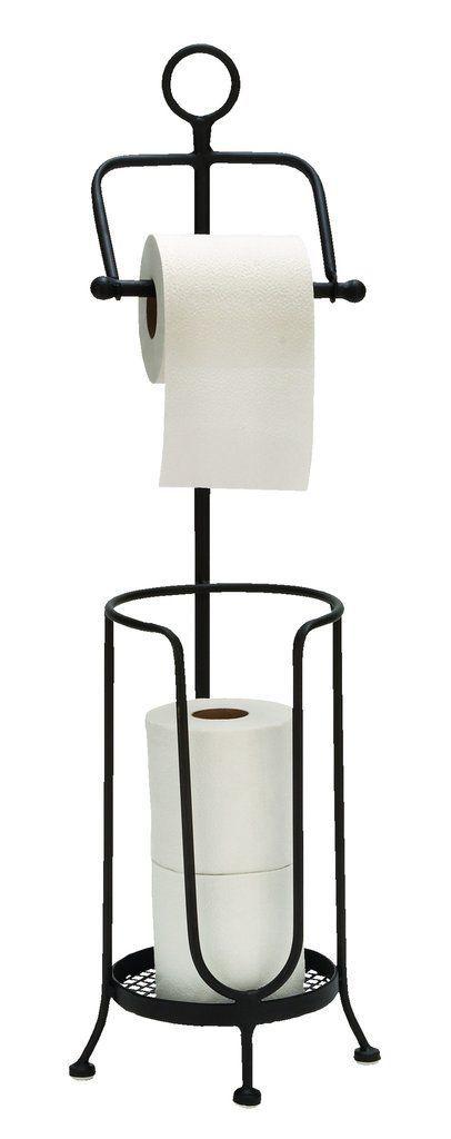 Metal Toilet Paper Holder Floor Bath Room Decor - Giddet