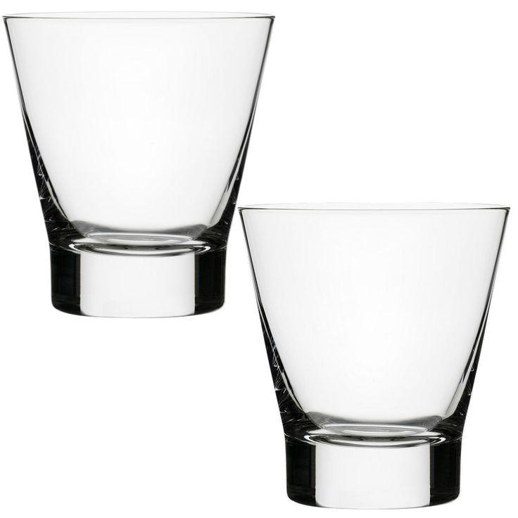 Iittala Aarne Old Fashioned Glasses